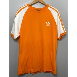 ADIDAS Originals Orange / Yellow Short Sleeve Tee